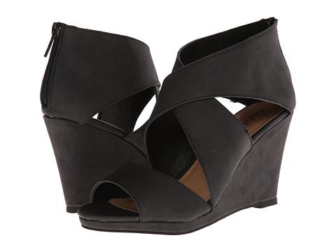 Michael Antonio - Gabina (Black) Women's Wedge Shoes