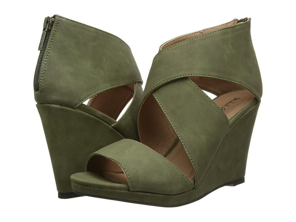 Michael Antonio - Gabina (Olive) Women's Wedge Shoes