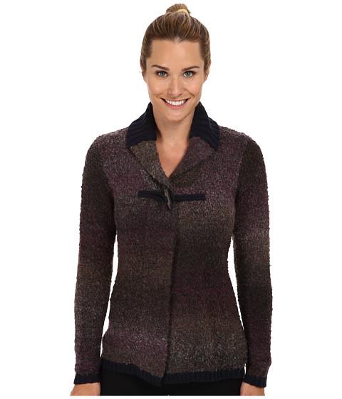 Woolrich - Westwind Boucle Cardigan Sweater (Grape Space Dye) Women's Sweater