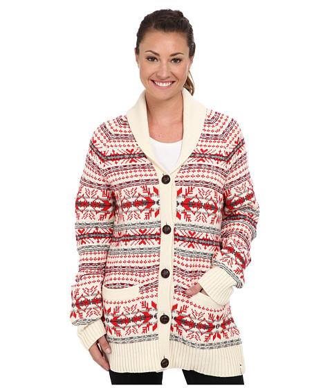 Woolrich - Darlington Wool Cardigan (Wool Cream) Women