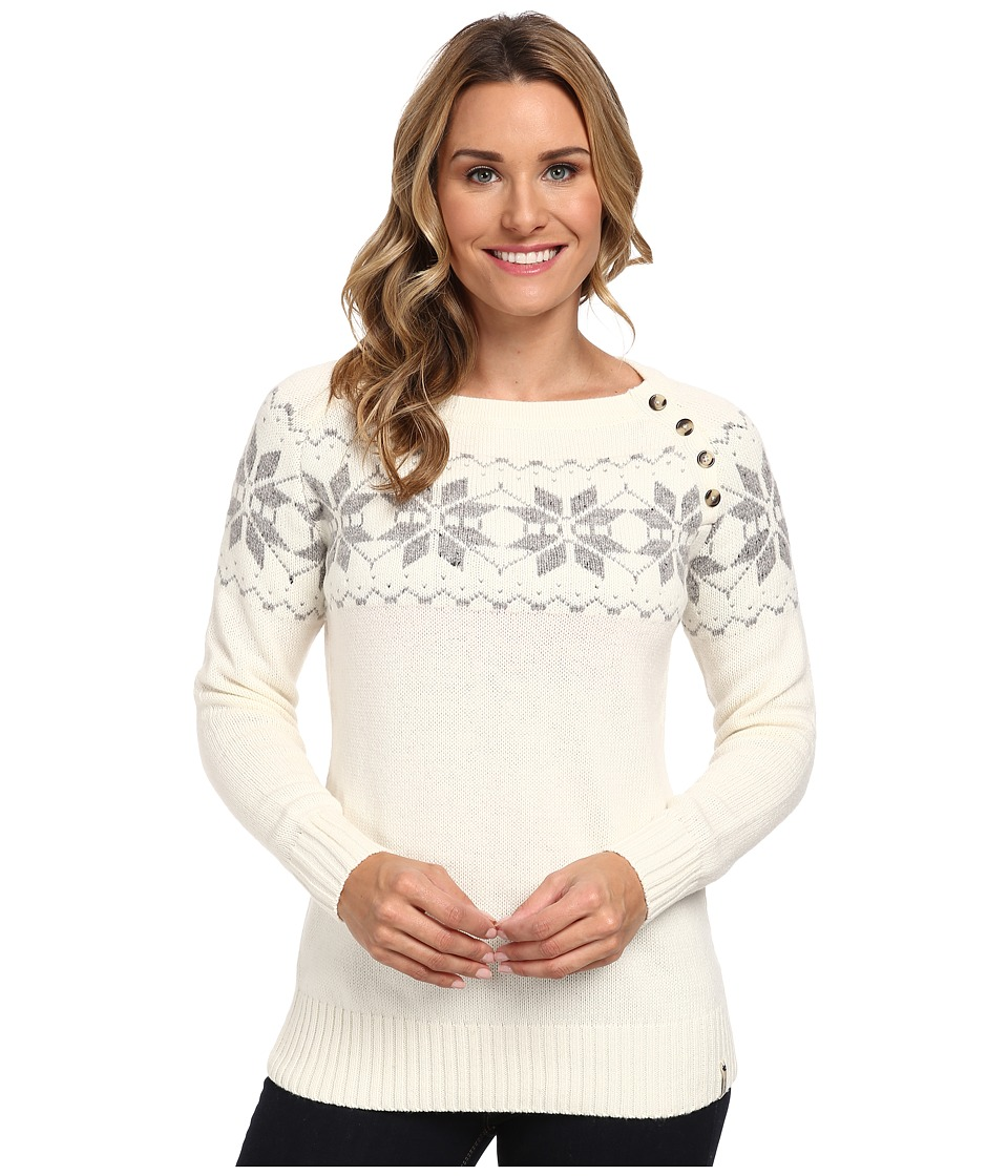 Woolrich - Vintage Snow Wool Sweater (Wool Cream) Women's Sweater