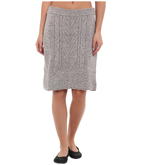 Woolrich - Shannon Cable Sweater Skirt (Frost Heather) Women