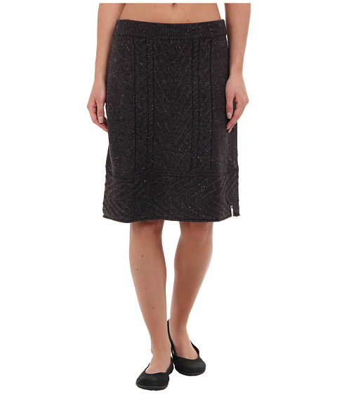 Woolrich - Shannon Cable Sweater Skirt (Onyx Heather) Women
