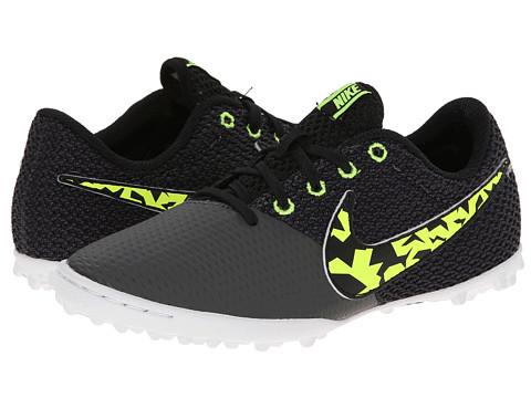 Nike Kids - Elastico Pro III TF Jr Soccer (Toddler/Little Kid/Big Kid) (Midnight Fog/Black/Volt/White) Kids Shoes