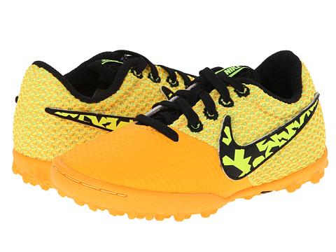 Nike Kids - Elastico Pro III TF Jr Soccer (Toddler/Little Kid/Big Kid) (Laser Orange/Black/Black/White) Kids Shoes