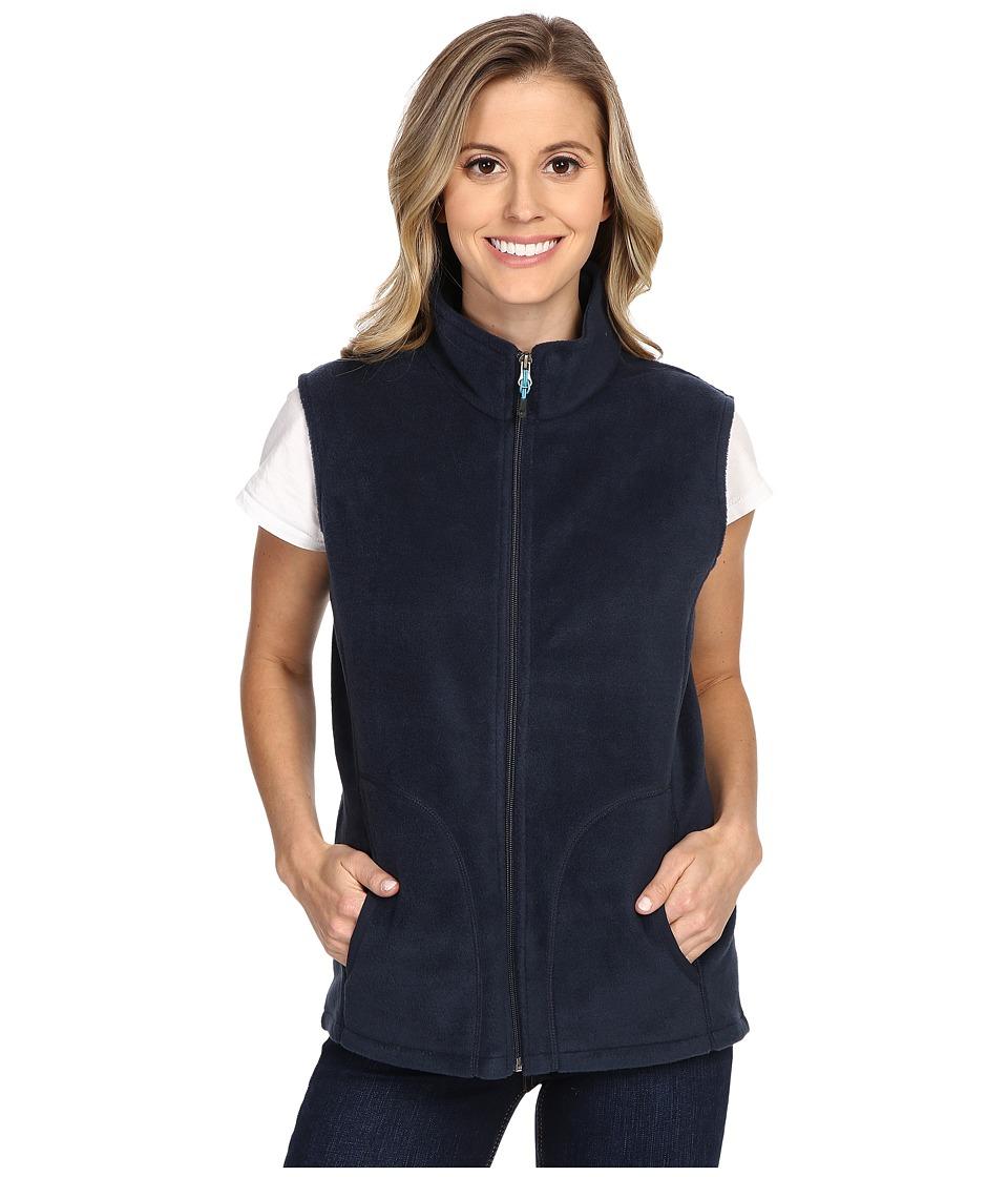 Woolrich - Andes Fleece Vest (Deep Indigo) Women's Vest