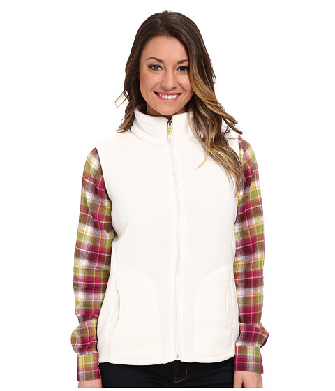 Woolrich - Andes Fleece Vest (Winter White) Women's Vest