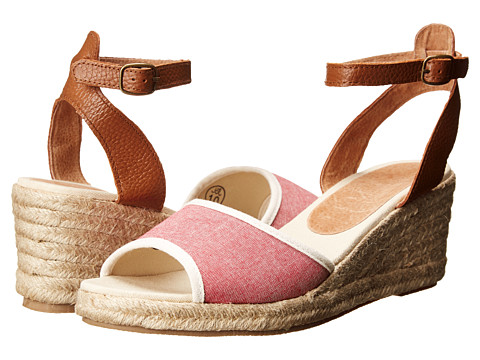 Soludos - Wedge Sandal (Nantucket Red) Women's Wedge Shoes