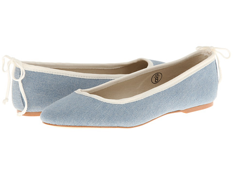 Soludos - Ballet Flat (Denim Chambray Blue) Women