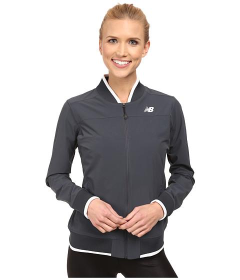 New Balance - Tournament Warm Up Jacket (Anthracite) Women