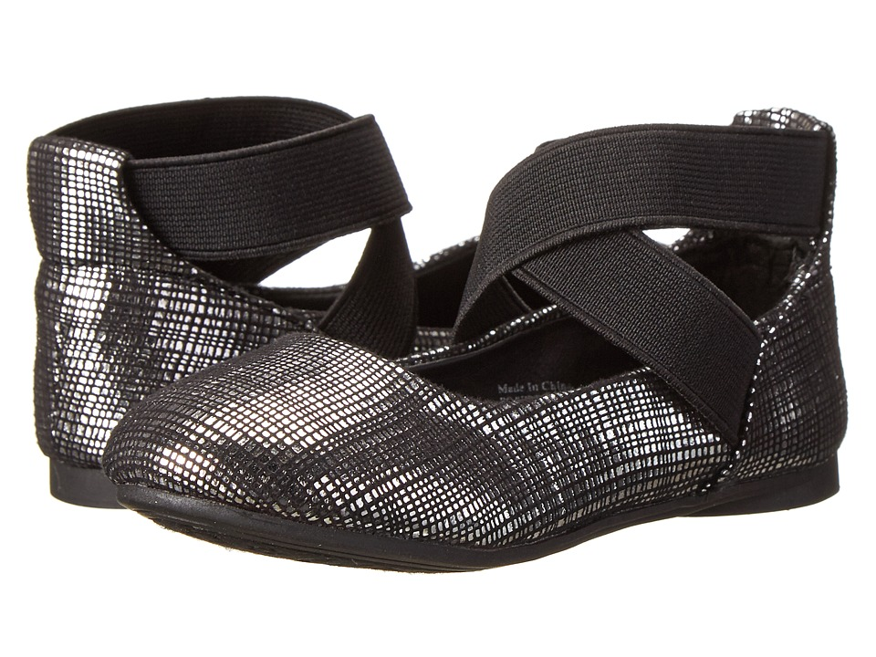 Kenneth Cole Reaction Kids - Tap Ur It 2 (Toddler/Little Kid) (Pewter) Girl's Shoes