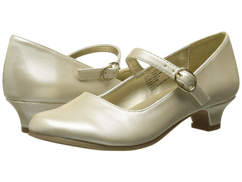 Kenneth Cole Reaction Kids - Draw The Shine (Little Kid/Big Kid) (Ivory Pearlized) Girl's Shoes