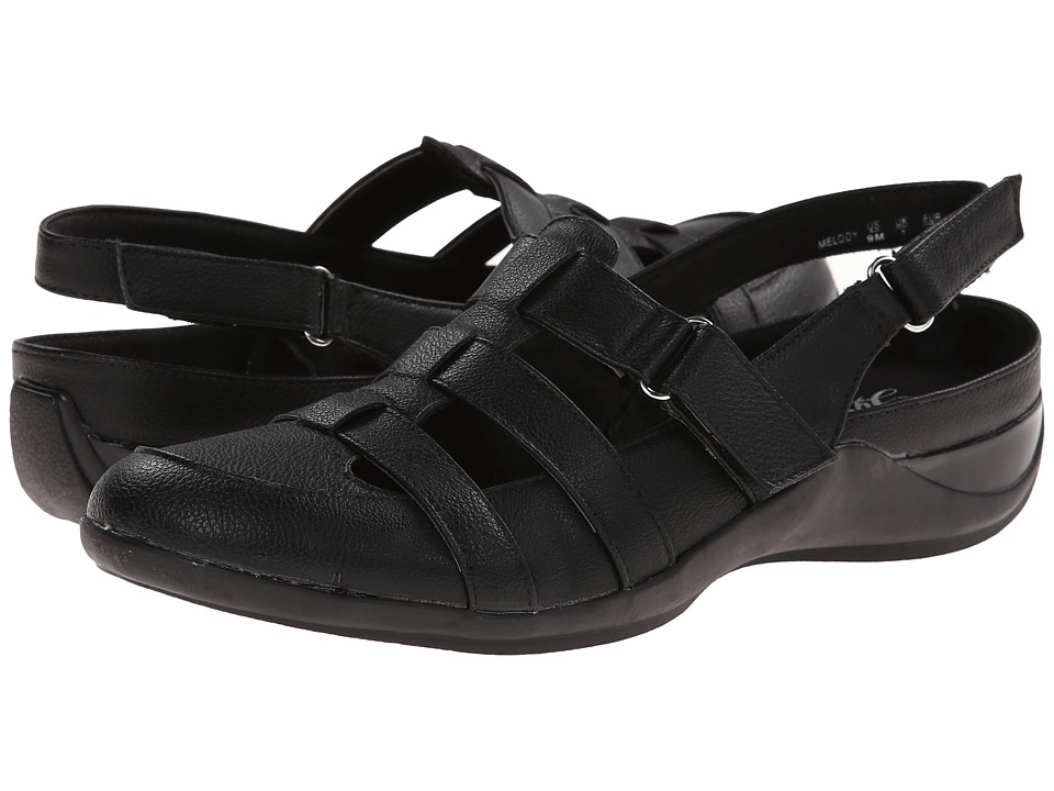 LifeStride - Melody (Black Bomber PU) Women's Shoes