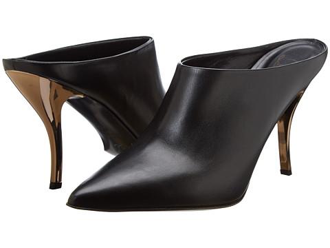 Delman - Brava (Black Calfskin) High Heels