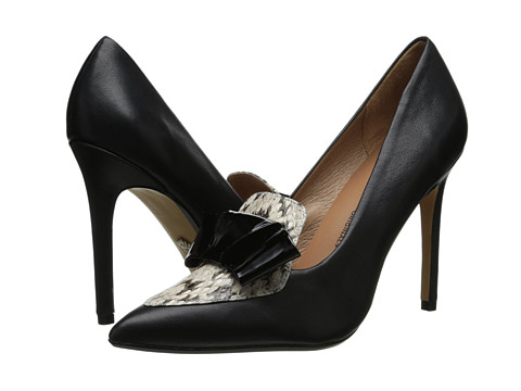 Nina Originals - Reason (Black Soft Nappa/Snake) High Heels