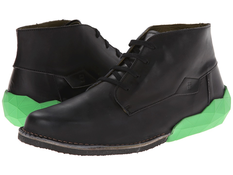 El Naturalista - Tower NC32 (Black/Green) Men's Shoes