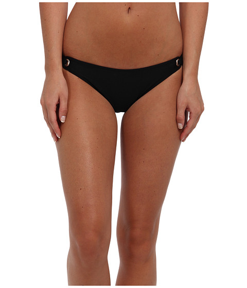 Splendid - Retro Bikini Bottom (Black) Women's Swimwear