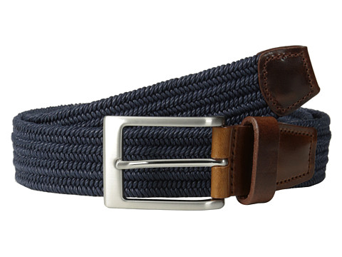 Allen-Edmonds - Stretch Ave (Navy Stretch) Men's Belts