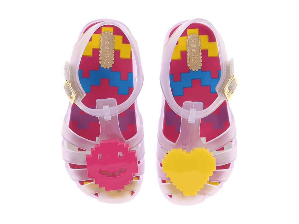 Mini Melissa - Aranha V (Toddler) (Clear) Girl's Shoes