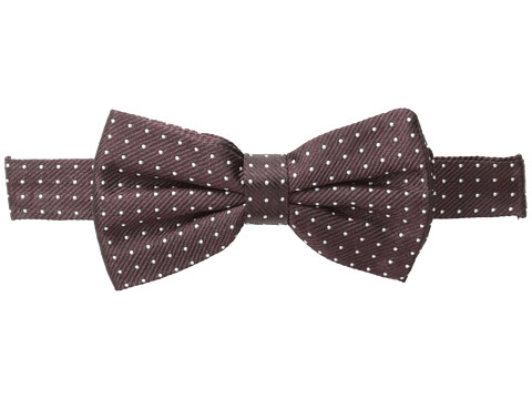 Dolce & Gabbana - Plaid Bow Tie (Very Dark Augbergine) Ties