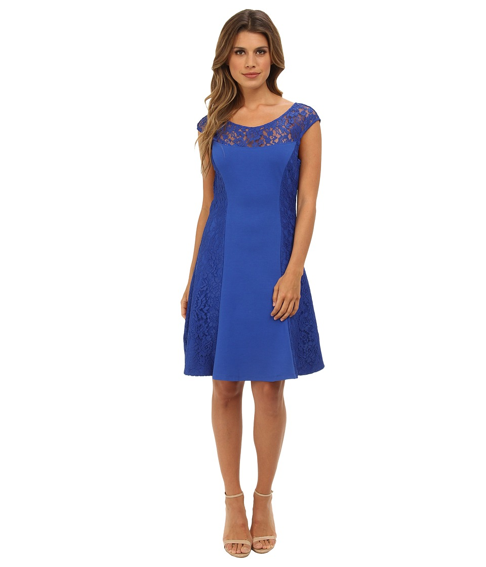 Hale Bob - S/S Dress (Blue) Women's Dress