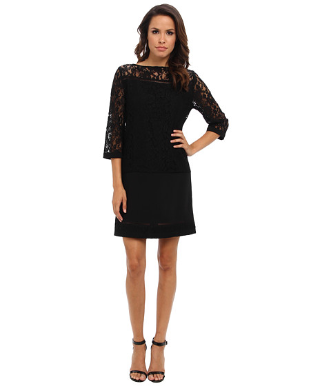 Hale Bob - Shift Dress (Black) Women's Dress