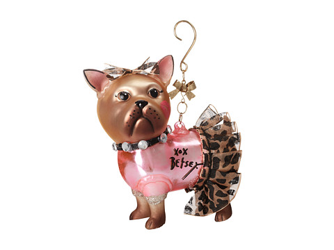 Betsey Johnson - Gifting Hostess Dog Tutu Ornament (Brown) Pendants Pins