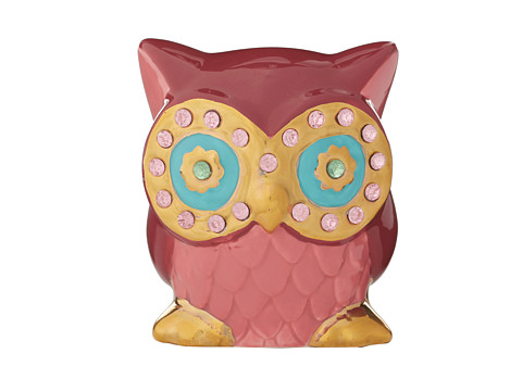 Betsey Johnson - Gifting Hostess Owl Eyes Bank (Pink) Wallet