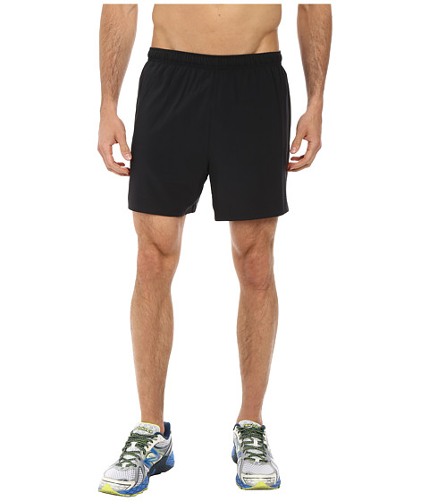 New Balance - Impact 5 Track Short (Black/Black) Men