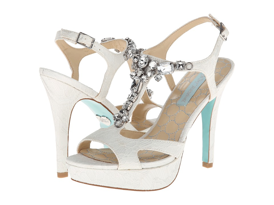 Blue by Betsey Johnson - Luxe (Ivory Fabric) High Heels
