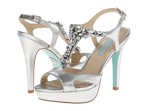 Blue by Betsey Johnson - Luxe (Silver) High Heels