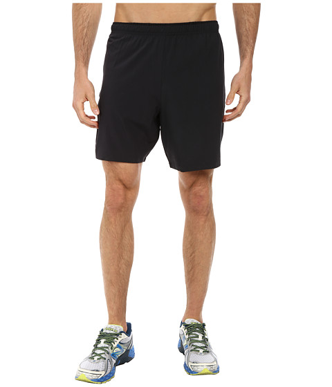 New Balance - Impact 7 2-IN-1 Short (Black/Black) Men