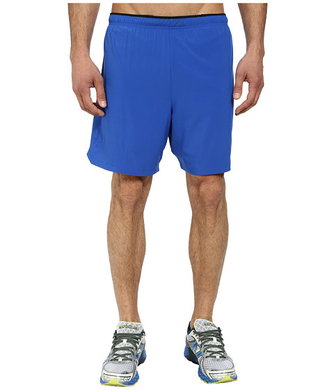 New Balance - Impact 7 2-IN-1 Short (Optic Blue/Optic Blue) Men's Shorts