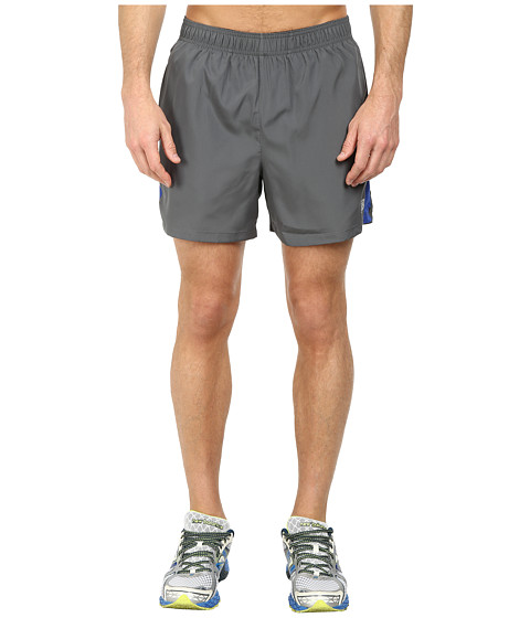 New Balance - Accelerate 5 Short (Optic Blue/Lead) Men's Shorts