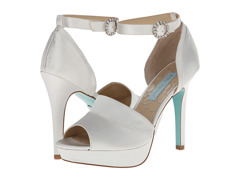 Blue by Betsey Johnson - Silk (Ivory Satin) High Heels