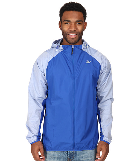 New Balance - Surface Run Jacket (Optic Blue) Men's Jacket