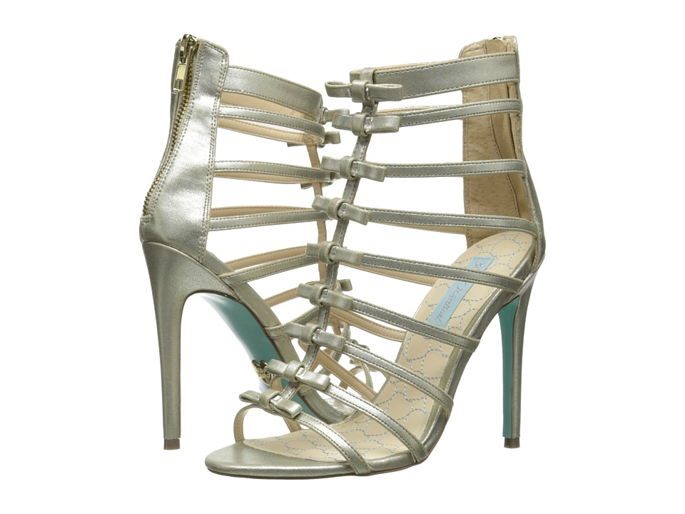 Blue by Betsey Johnson - Tie (Gold) High Heels