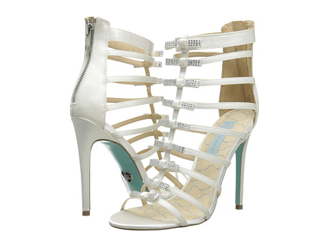 Blue by Betsey Johnson - Tie (Ivory Satin) High Heels