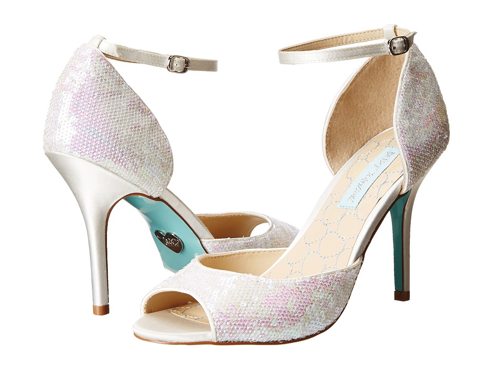 Blue by Betsey Johnson - Wed (Ivory Fabric) High Heels