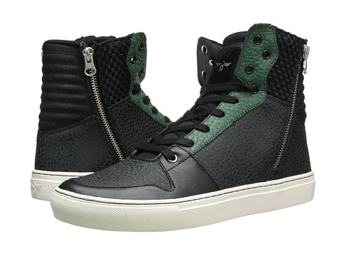 Creative Recreation - Adonis (Black/Green) Men's Shoes