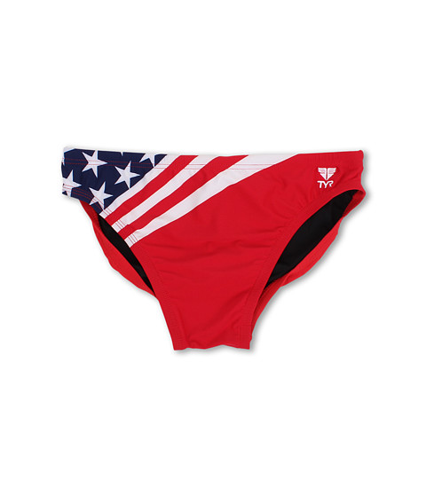 TYR - American Flag 2 Racer (Navy/Red) Men