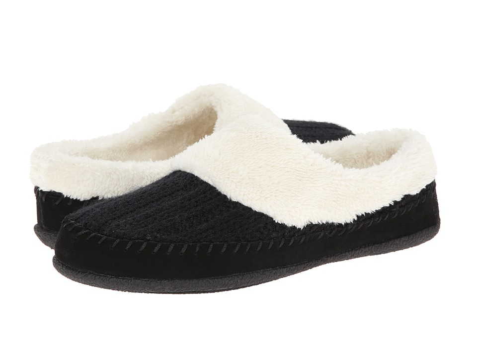Daniel Green - Gerdy (Black) Women's Slippers