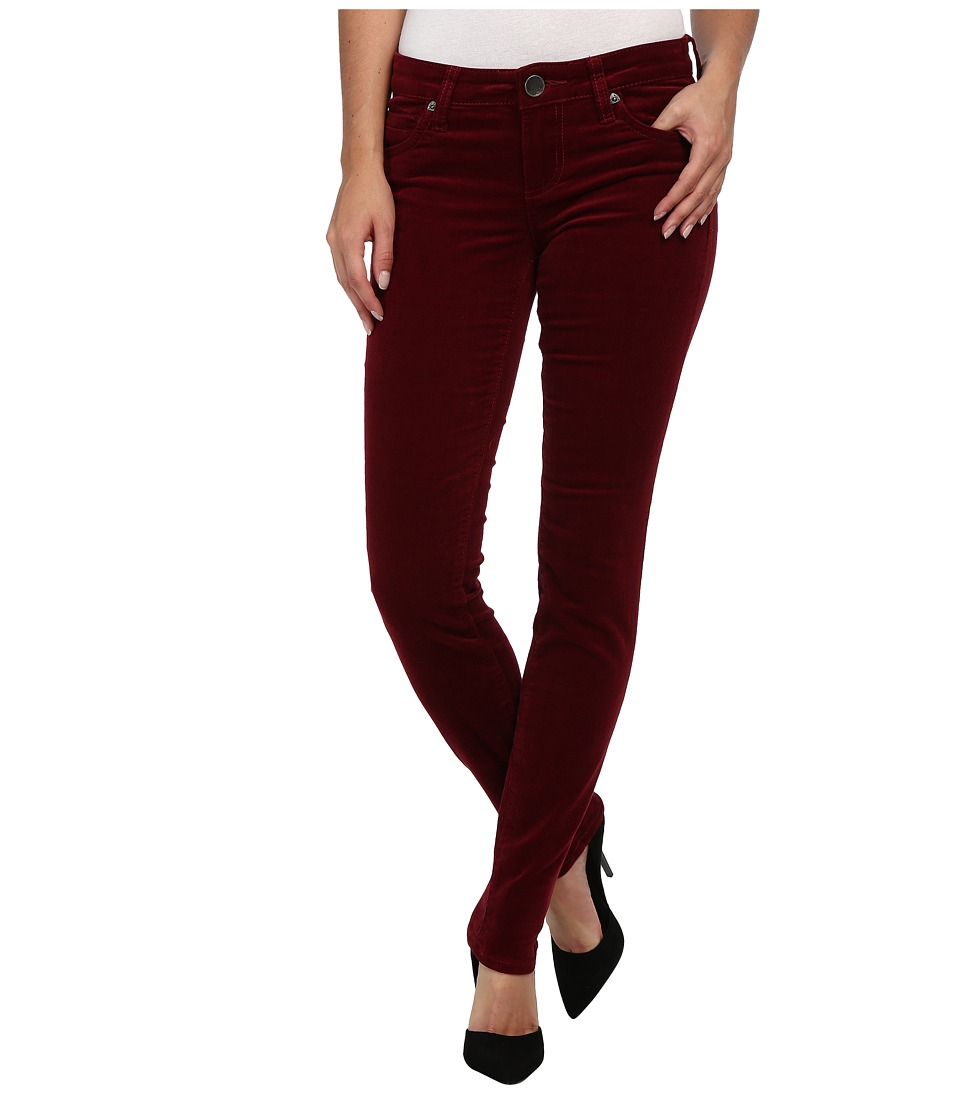 KUT from the Kloth - Diana Cord Skinny Jean (Tibertan Red) Women