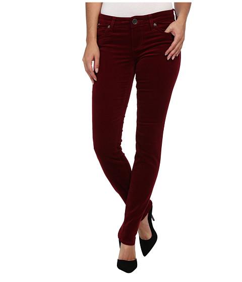 KUT from the Kloth - Diana Cord Skinny Jean (Tibertan Red) Women's Jeans
