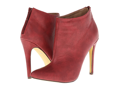 Michael Antonio - Jaime (Red) Women's Dress Zip Boots