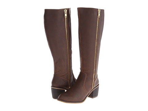 Michael Antonio - Bailin VAC (Brown) Women's Zip Boots