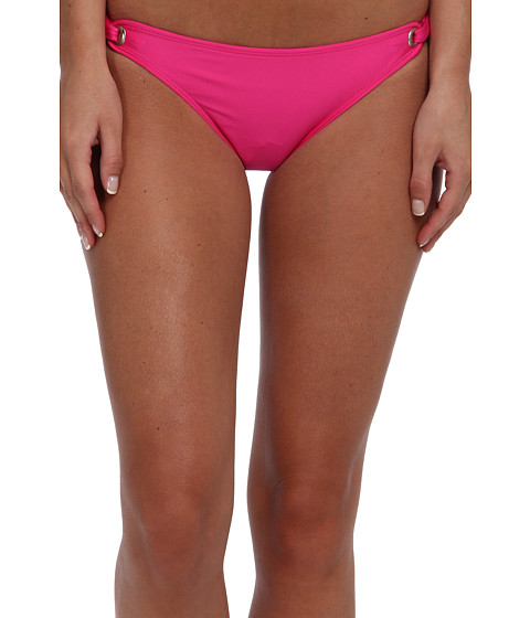 Splendid - Retro Bikini Bottom (Pink) Women's Swimwear