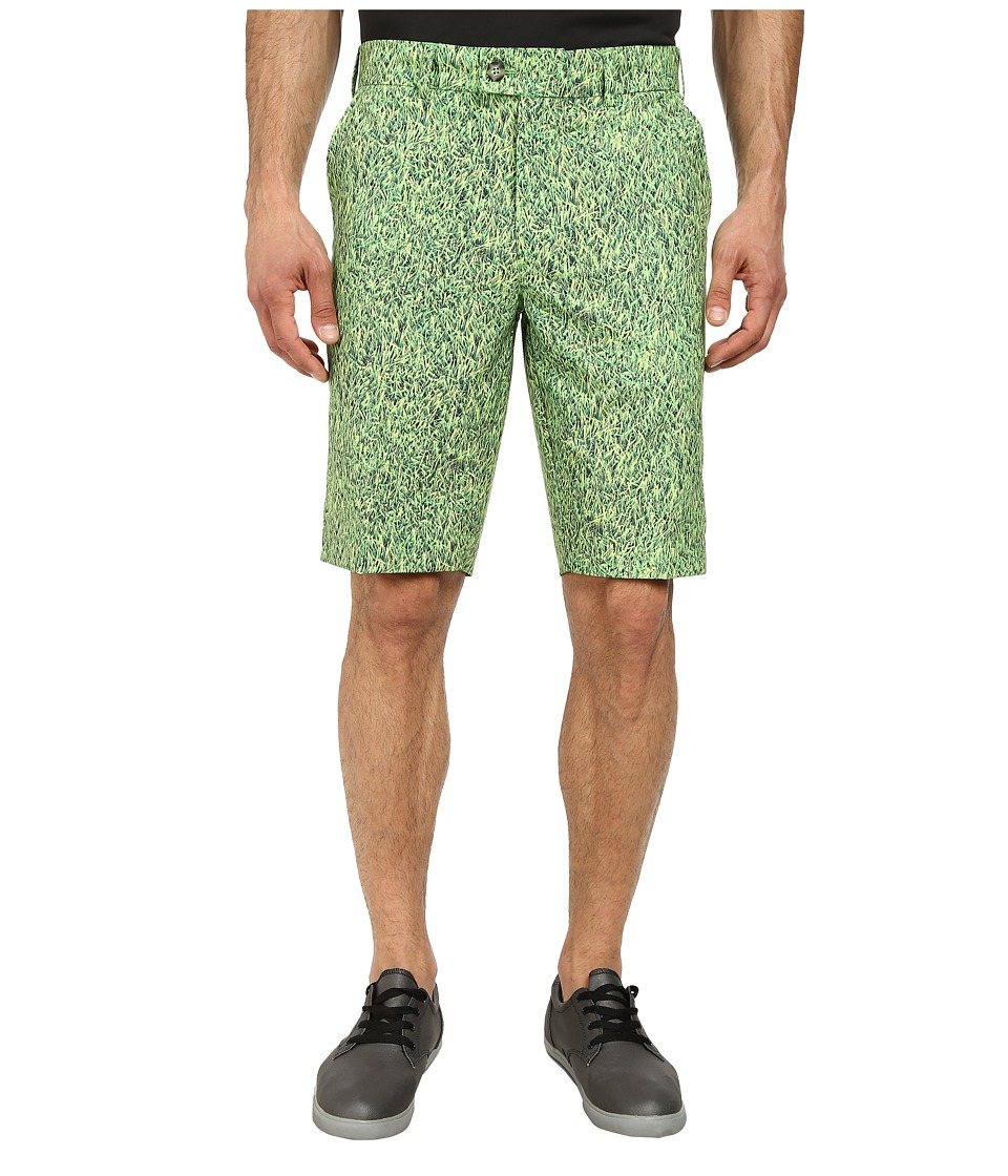 Loudmouth Golf - Lost Ball Shorts (Green) Men's Shorts