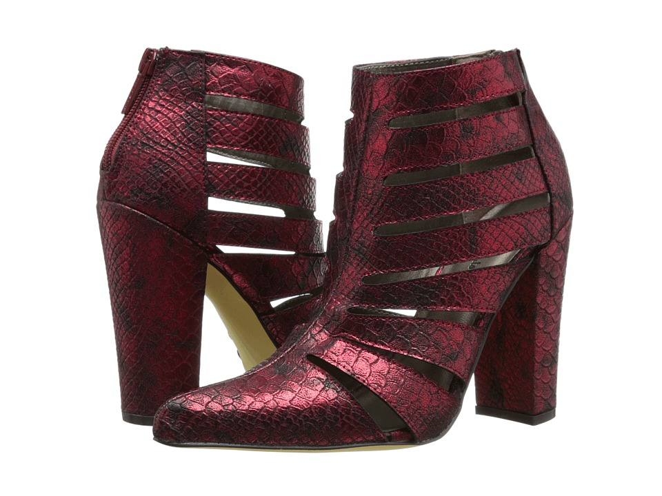 Michael Antonio - Mulvey - Snake (Red Snake Pu) Women's Boots