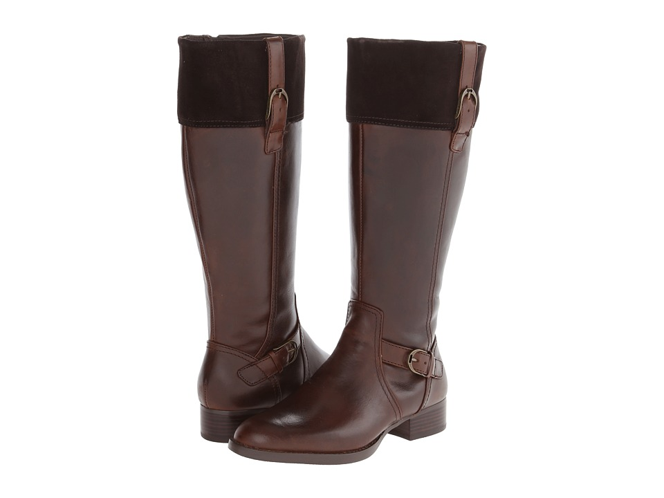 Ariat - York-Wide Calf (Burlywood) Women's Wide Shaft Boots